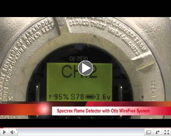 Spectrex and Otis WireFree Video