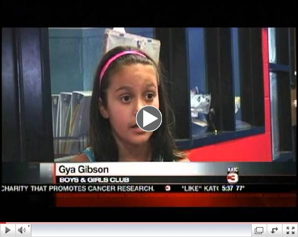 KATC-Kids Knowing How To Be Prepared For An Abduction-Filmed at the Boys & Girls Clubs of Acadiana