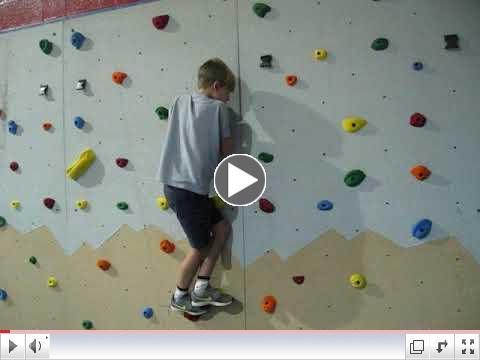 BCA Students use New Climbing Wall!