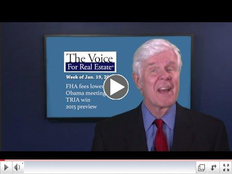 The Voice for Real Estate 15: FHA Fees, TRIA Win