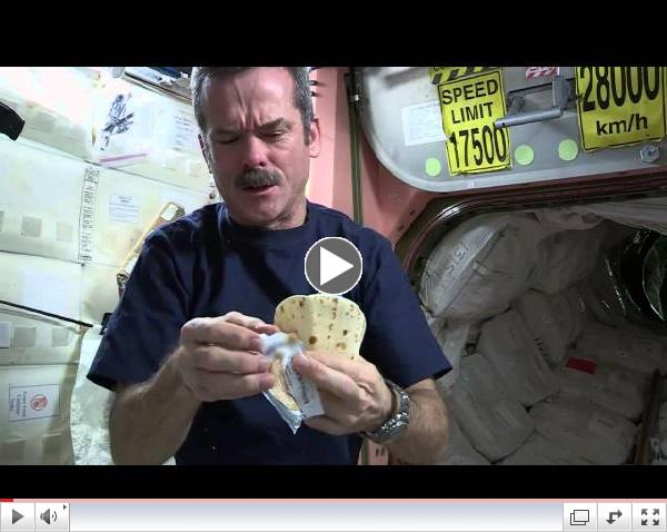 Making a Peanut Butter Sandwich in Outer Space Video