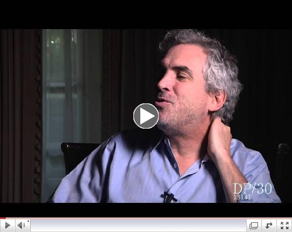 DP/30: Gravity, co-writer/director Alfonso Cuar??n