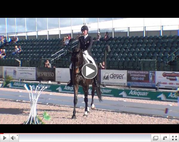 �Watch Adrienne Lyle's FEI Grand Prix Special test with Wizard. Video courtesy of Campfield Videos.