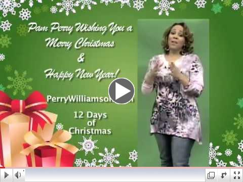 Pam Perry Christmas Message #socialmediaswag