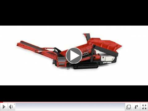 Sandvik QE341 Scalper 3D features animation