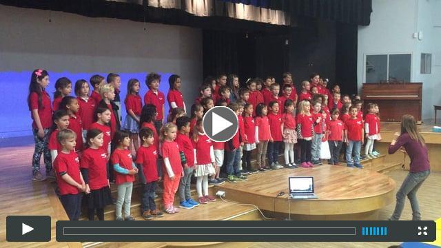 International Mini Forum - 1st Graders and Kindergarten students - Hegoak in Basque