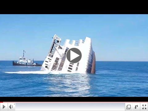 Watch the MV Twin Capes Become Part of an Artificial Reef