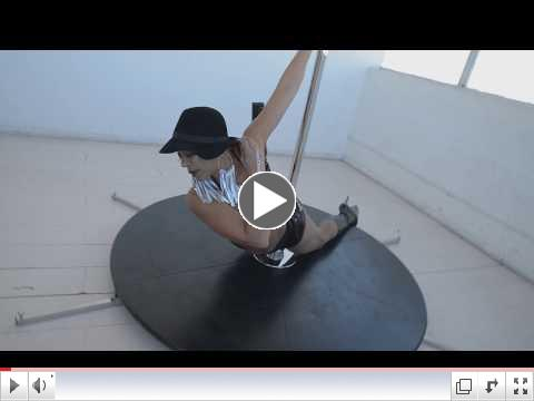 FlyingOver50 Pole Dance Video to Kehlani's
