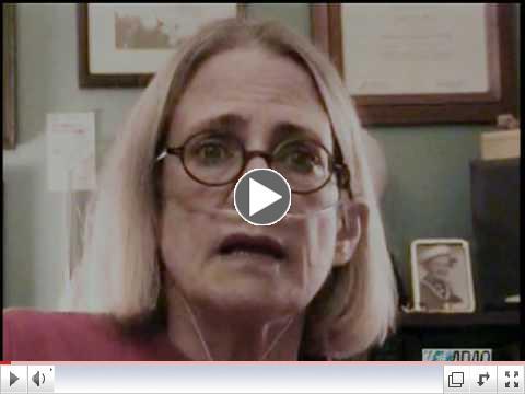Mesothelioma patient June Breit's Last Message (2009)