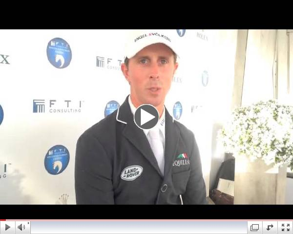 Watch an interview with Ben Maher about Urico and his four wins at FTI WEF!