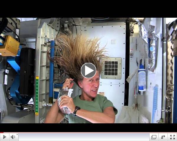 Inside the ISS - Hair Raising Hygiene!