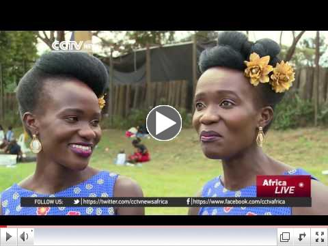 Hundreds of twins gather in Kampala to celebrate their annual festival/ CCTV