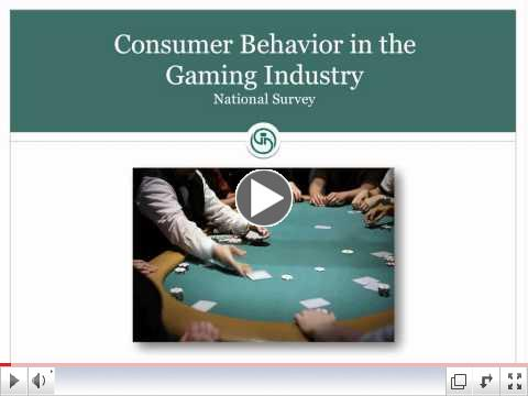 U.S. Gaming Revenue Trends & National Consumer Behavior Survey