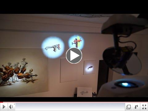 Traditional exhibition meets augmented reality