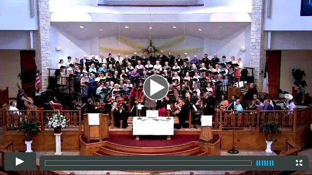 Easter Worship 2018 at First United Methodist Church, Round Rock, TX