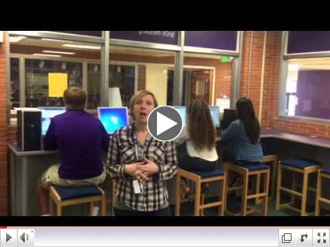 WAC campaign video from Librarian, Nicole Graham