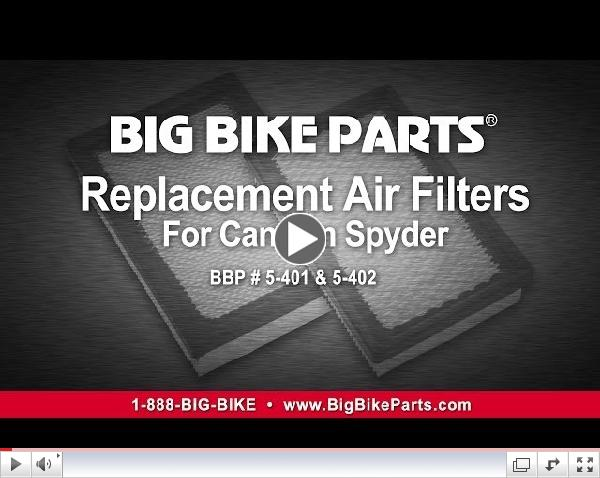 Replacement Air Filters for Can-Am Spyder