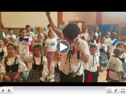 La Canzone del Benvenuto - 2017 Summer Camp Final Day Presentation - July 21, 2017