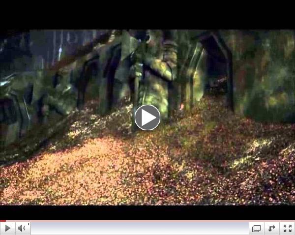 Hobbit Pinball - LCD Animation