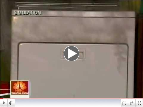 NBC TODAY Show: Dryer Fire Prevention, Sept. 2, 2008