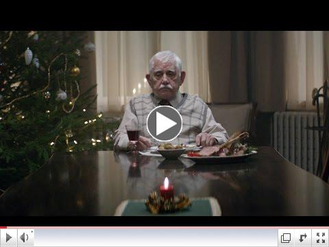 Edeka's touching video about older adult's loneliness during the holidays.