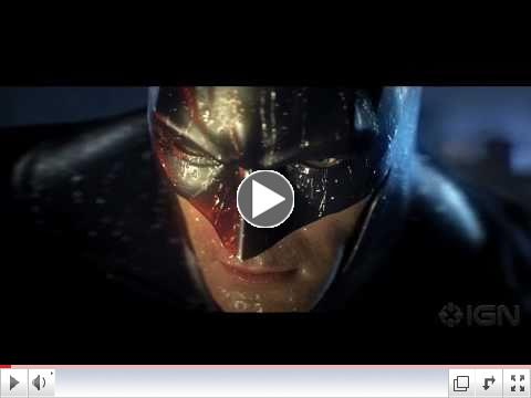 Batman Arkham City: Hugo Strange Trailer, 3d scanning services, video game trailers