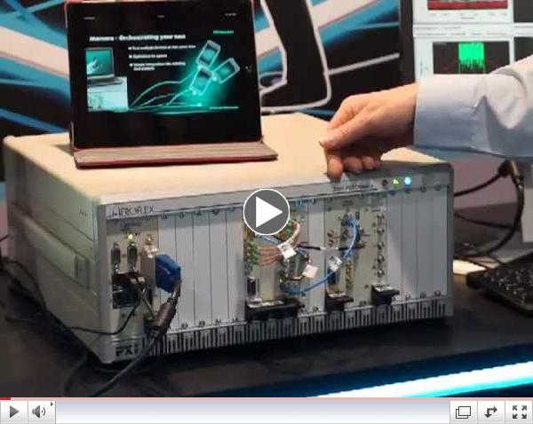#CTIA13 Aeroflex Discusses New Product Launches