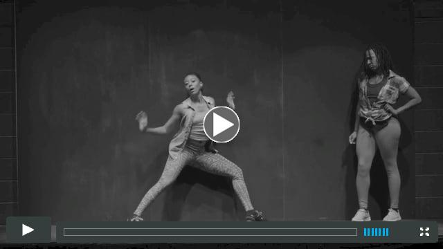 Fana & Beatrice in BLACK GIRL: Linguistic Play- compositions by Scott Patterson and Tracy Wormworth