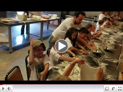 Pizza Making Day - Video Clip #8 - Summer Camp, Day 7 - June 27, 2017