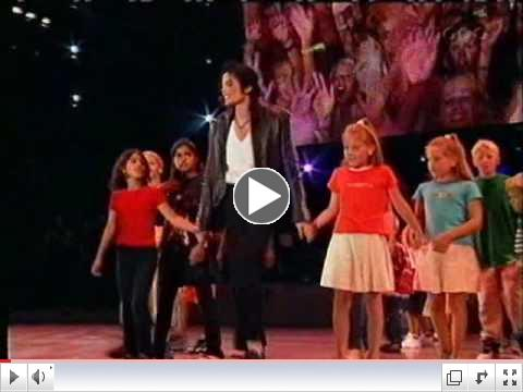 Michael Jackson - Heal The World Live at Ullevi 1997