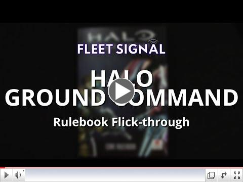 Halo: Ground Command Rulebook Flick-Through - Fleet Signal