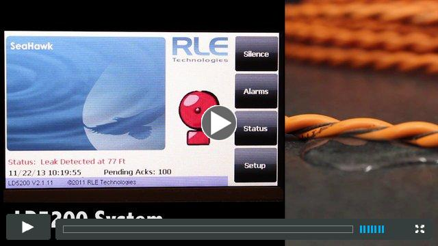 RLE Sensing Cable and Leak Detection Controller Demonstration