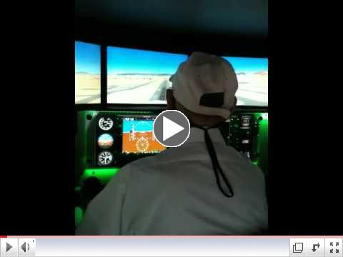 Red Bird Motion Flight Simulator at Guidance Aviation