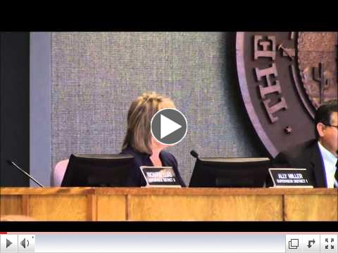 Supervisor Miller on the FY 2016 Budget