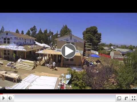 San Diego Habitat for Humanity's Home Builders Blitz - McCarthy Time Lapse