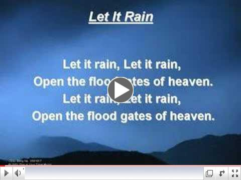 Let It Rain (Original)