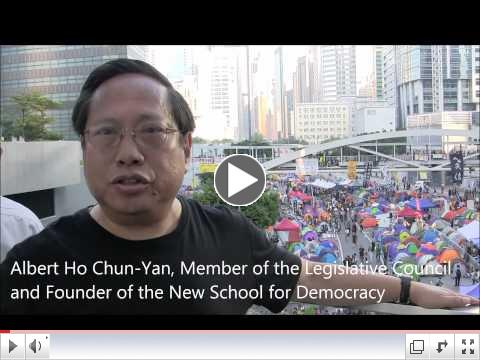 Hong Kong Democratic Leader's Message to International Community