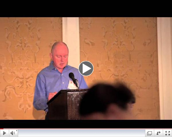 Sean Maloney, Houston Aphasia Recovery Center's 2013 Let's Talk Luncheon Speaker