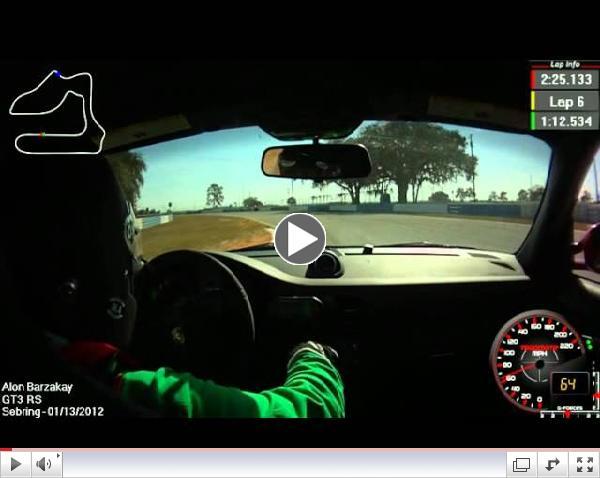 Porsche GT3 RS PBOC Winter Fest Sebring