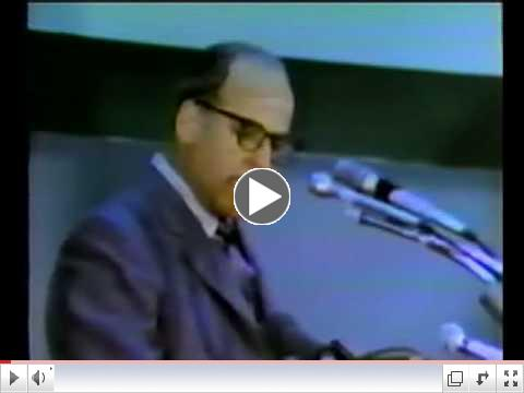 Earth Day 1970 Part 2: Gaylord Nelson's Speech (CBS News with Walter Cronkite)