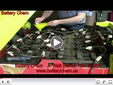 Forklift Battery Rebuilding $5000.00 A Week Possible by Walt Barrett