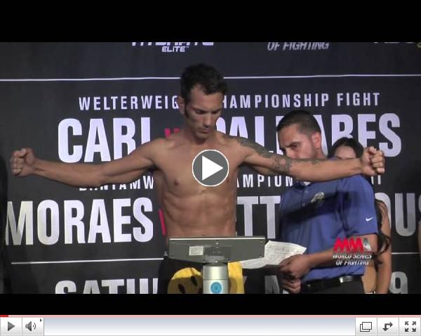 WSOF 9 Weigh-In Highlights