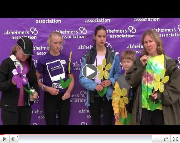 Why I Walk Compilation 3 -  San Francisco Walk to End Alzheimer's