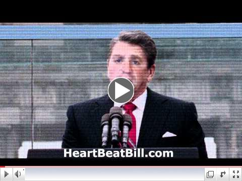 Ronald Reagan on Ohio's Heartbeat Bill