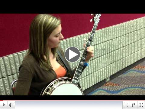 Brandy Miller, Youth Showcase Artist, Bluegrass Heritage Foundation and Huber Banjos