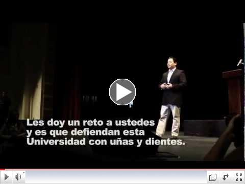 Juan Dalmau habla en el foro Voto Universitario 2012