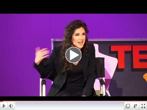 In my chair -- a makeup artists perspective on beauty: Eva DeVirgilis at TEDxRVAWomen