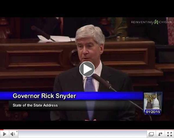Governor Snyder on the importance of improving third-grade education