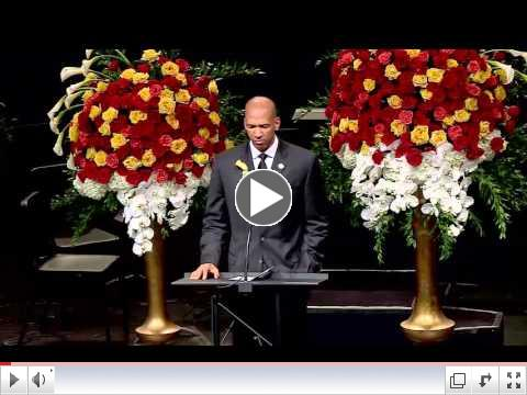 Monty Williams delivers Eulogy for Ingrid Williams