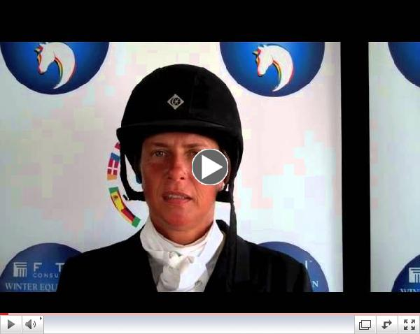 Jennifer Alfano Wins $50,000 USHJA International Hunter Derby with Miss Lucy at 2013 FTI WEF